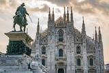 Katedra w Mediolanie we Włoszech