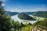 Fototapety Schlögener Schlinge Donau