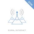 rural internet icon