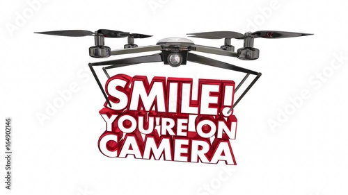 Smile Youre On Camera Drone Spying Video 3d Animation
