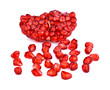 Whole fruit shaped pomegranate seeds - 164911901