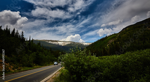 The Rocky Mountains in Summer-Spring