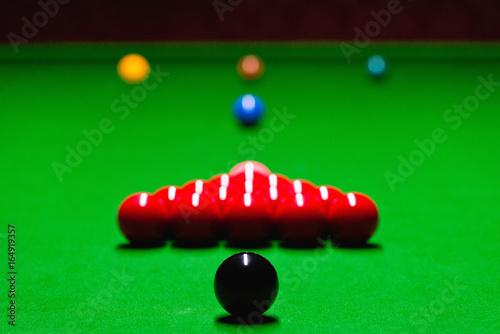 Pool Table Setup >> Snooker Table Setup Buy Photos Ap Images Detailview