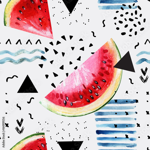 streszczenie-tlo-akwarela-lato-arbuz-pociagniecie-pedzla-doodle-tekstury-papieru