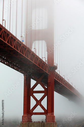 Golden Gate Bridge in San Francisco. California. USA