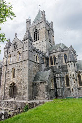 Travel in Ireland. Dublin, Christ Church Cathedral Poster