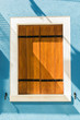 Window of a house in Burano - Venice - Italy