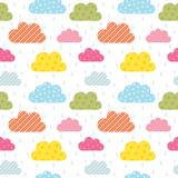 Colorful cloud pattern