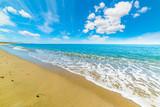 Golden shore in Perdepera beach