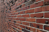 Face Brick Wall Perspective