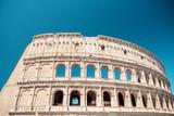 Koloseum. Rzym, Włochy. Koloseum. Rzym, Włochy. Roman arcitecture. Najbardziej popularny punkt orientacyjny w Rzymie.