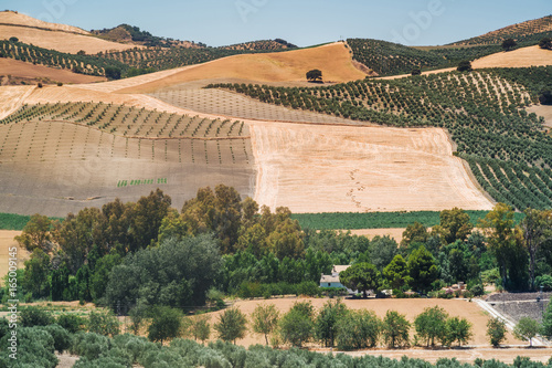 Landscapes of Andalusia, Spain