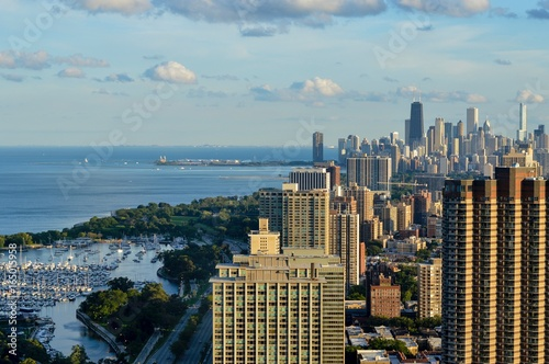 Chicago Skyline from 55 floors up