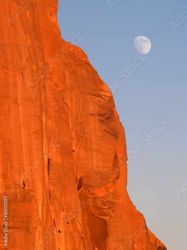 Moonrise Monument Valley