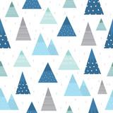 Cute mountain pattern