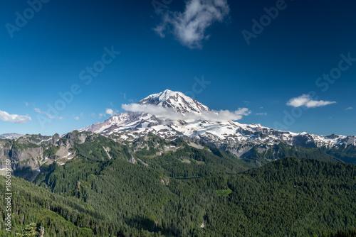 Foto op Plexiglas Khaki Tolmie Peak Trail