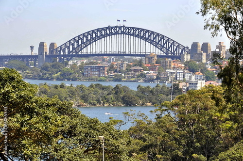 A View of Harbor Bridge in Sydney, Australia