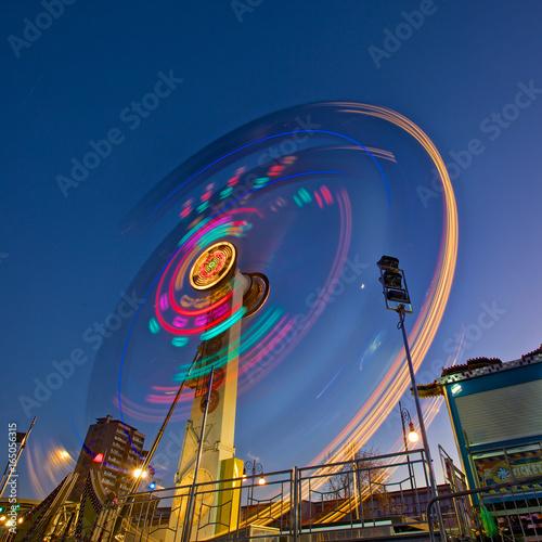 Tuinposter Amusementspark LUNA PARK