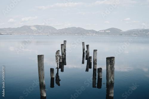 Foto op Aluminium Pier Nowhere #1