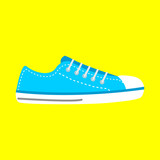 Sneakers vector icon