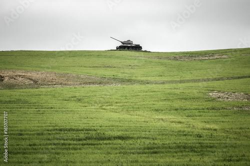 Soviet tank T-34 from World War II, Slovakia | Buy Photos | AP