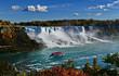 Niagara Falls Landscape, Canadian Falls, Canada
