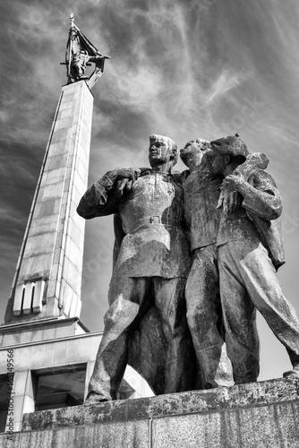 Memorial monument Slavin in Bratislava - Slovakia Poster
