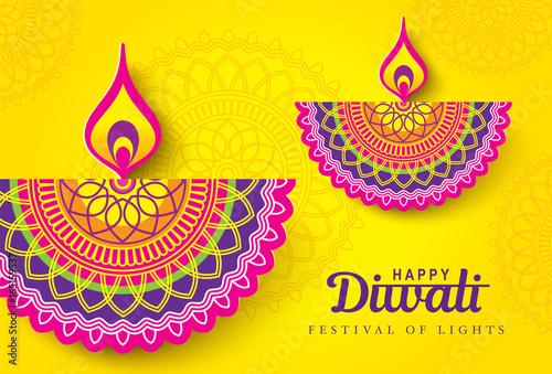 Diwali festival greeting card with diwali diya oil lamp buy diwali festival greeting card with diwali diya oil lamp m4hsunfo
