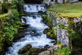 source et gorges de la Loue, dans le Jura
