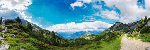 Aluminium Blauw Berge Alpen Achensee Österreich