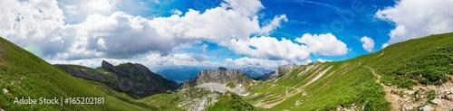 Foto op Canvas Panoramafoto s Berge Alpen Achensee Österreich