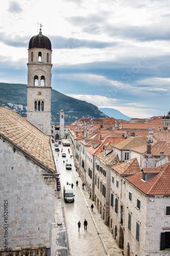 Die Altstadt von Dubrovnik in den frühen Morgenstunden Poster
