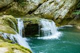 Im Nationalpark Plitvicer Seen in Kroatien