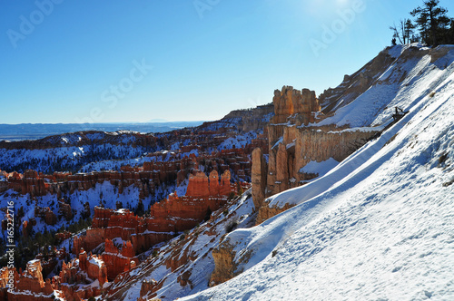 Frozen Bryce Canyon