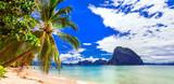Incredible wild beauty of Philippines islands. Palawan, El Nido - 165224164