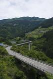 西祖谷と道 Iya village, Tokushima, Japan
