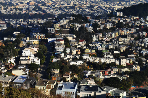 San Francisco hills houses