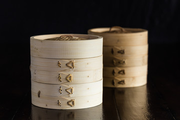 Bamboo steamer sets, Chinese kitchenware