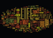 Life S Precious Moments Text  Word Cloud Concept Sticker
