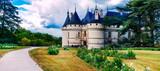 Most beautiful castles of France  - Chaumont-sur-Loire, famous Loire valley - 165309103
