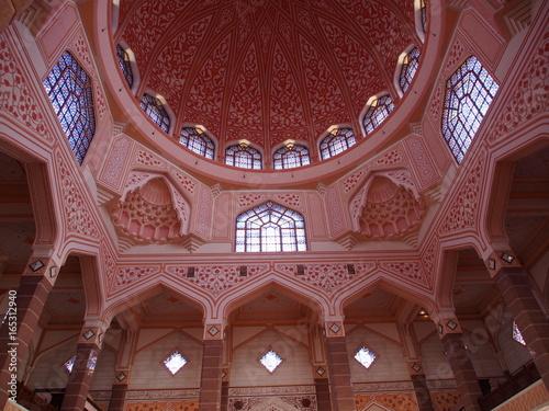 Foto op Aluminium Kuala Lumpur Mosquée de Putrajaya