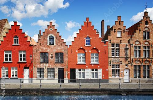 Deurstickers Brugge Brügge, Belgien