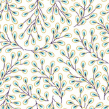 Colorful vector floral pattern - 165368959