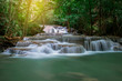 Beautiful waterfall  landscape in Thailand - 165369928