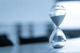 Sand clock, business time management concept - 165376505
