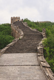 Long The Great Wall of China with watchtower