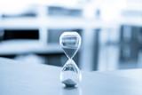 Sand clock, business time management concept - 165376591