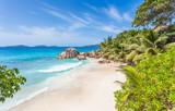 plage d'Anse Patates, la Digue, les Seychelles