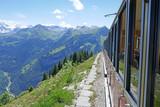 Fototapeta schynige platte, alpen, schweiz
