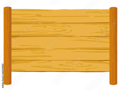 木の看板 イラスト